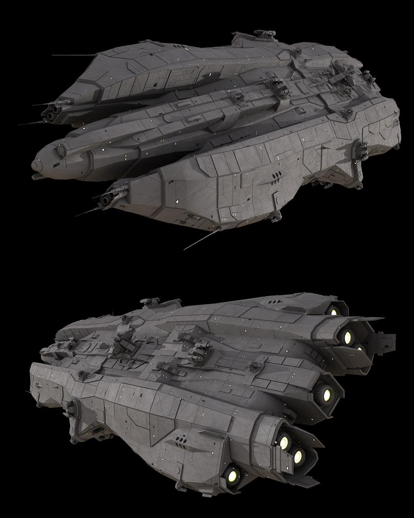 Infinity battleship by casper87