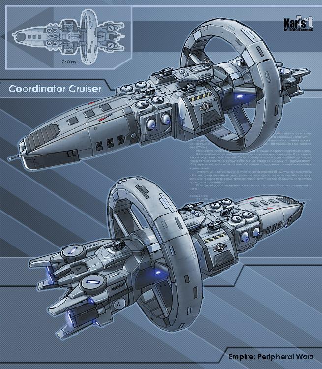 Coordinator cruiser by karana k