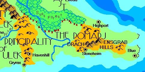Drachensgrab hills