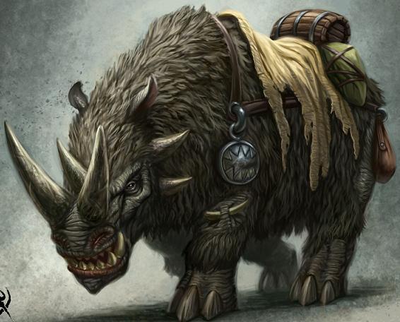Rhinox by lestatbishop
