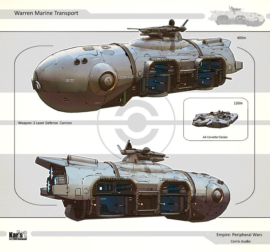 Warren marine transport by karana k