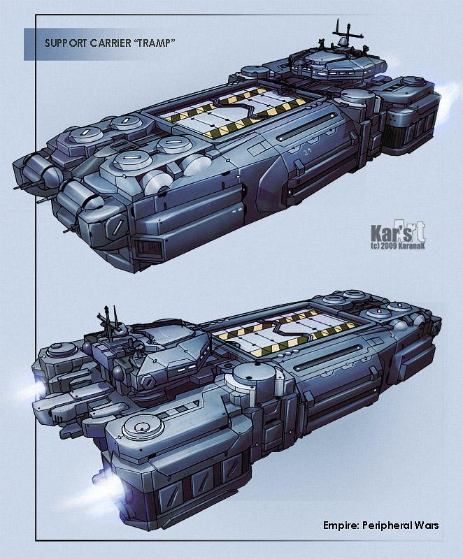 Support carrier trump by karana k