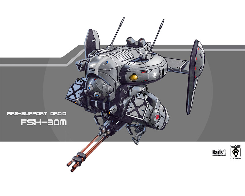 Fire support droid fsx 30m by karanak d343r6x