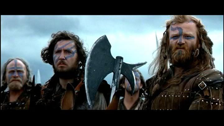Three scottish warriors