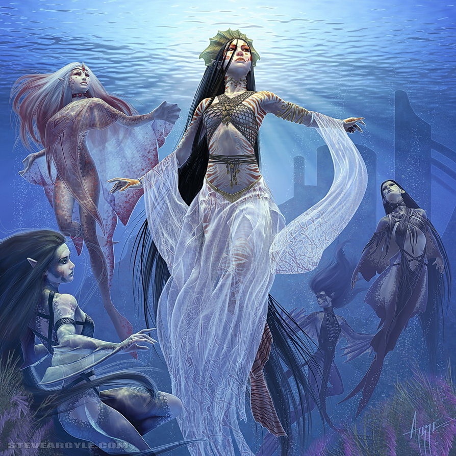 Thalaasa  ocean queen by steve argyle