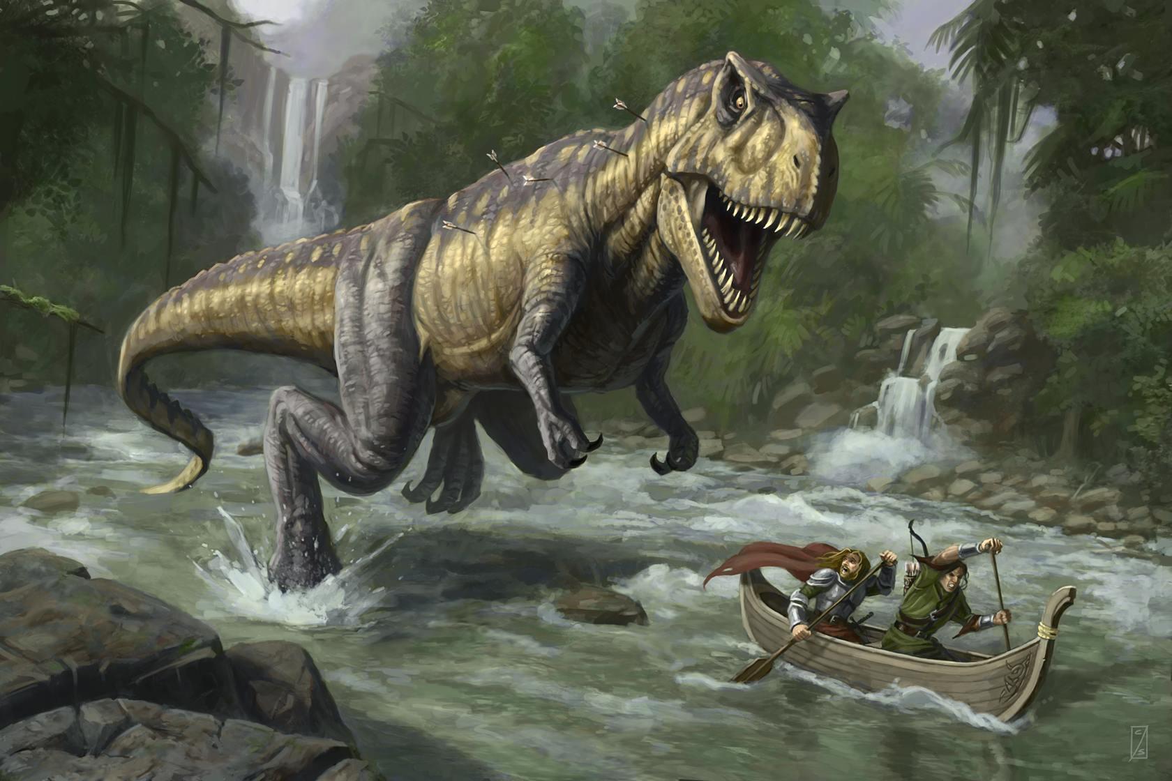 River dinosaur