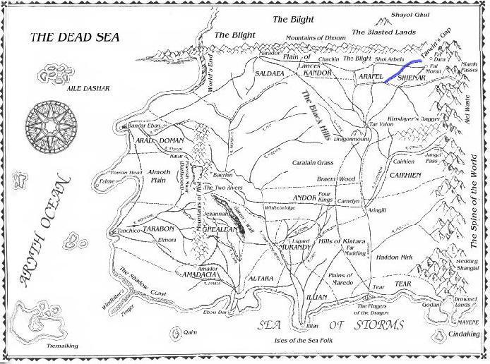 Map river mora