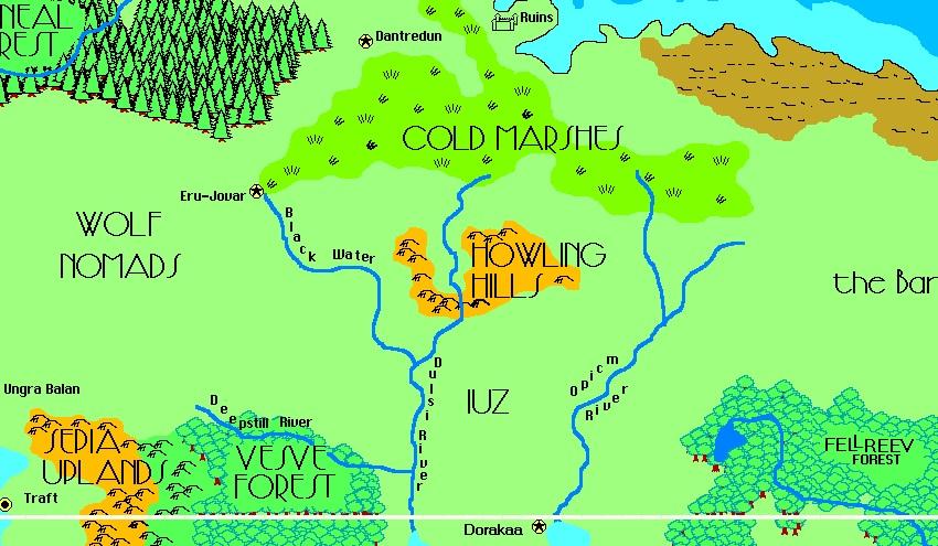 Howling hills