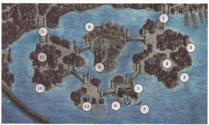 Shattered isles