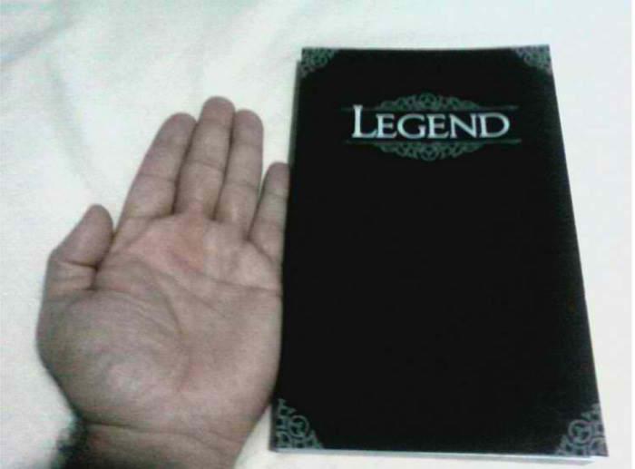 Legend size