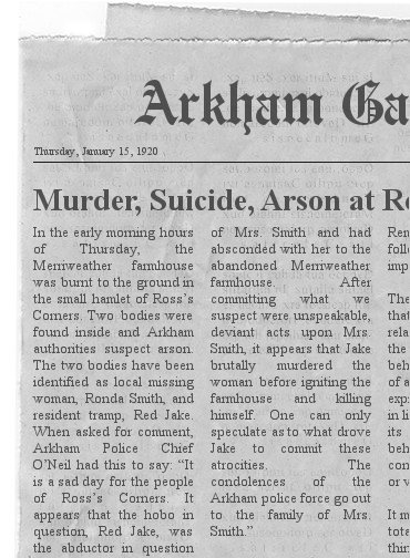 Arkham gazette jan 15 1920