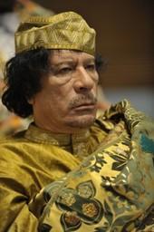 Muammar al gaddafi at the au summit5