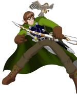 Half elf ranger