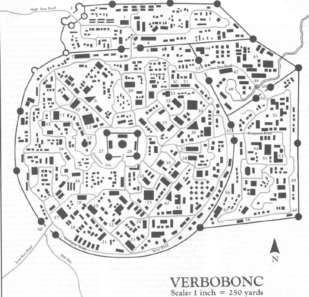 City of verbobonc