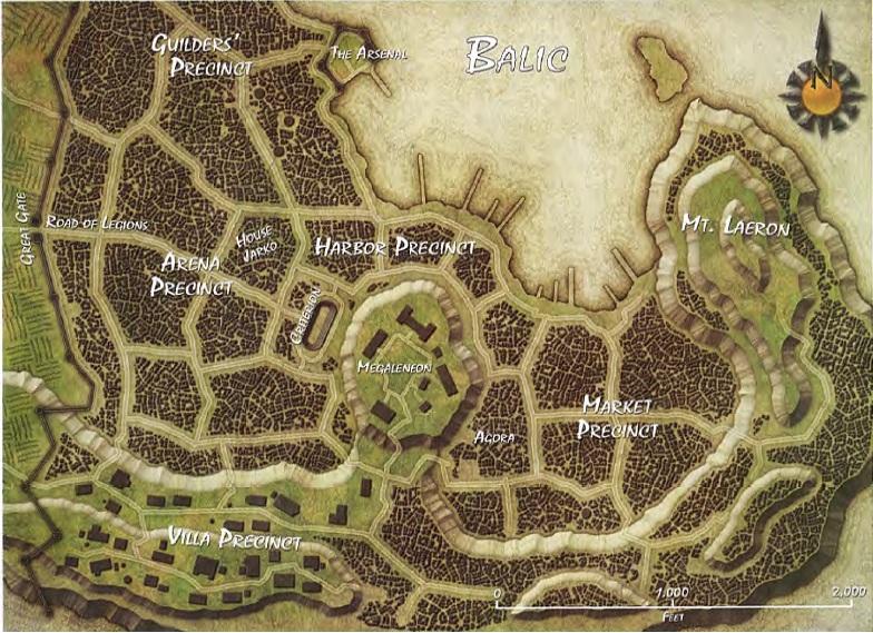 Balic map