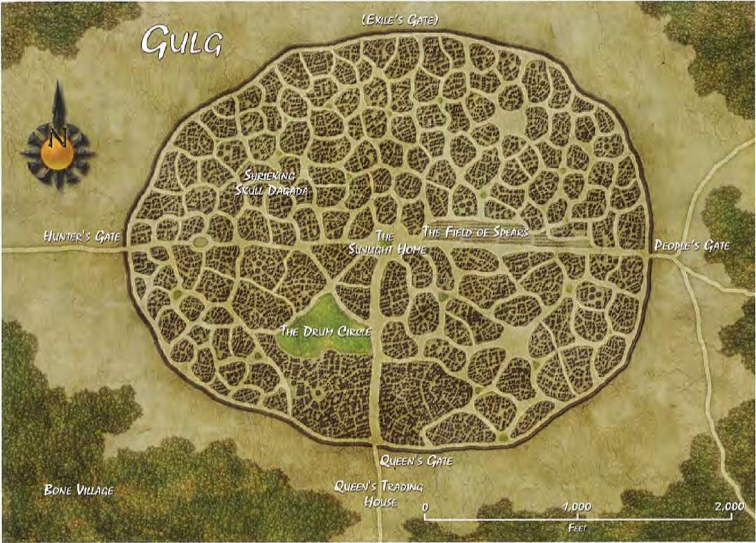 Gulg map