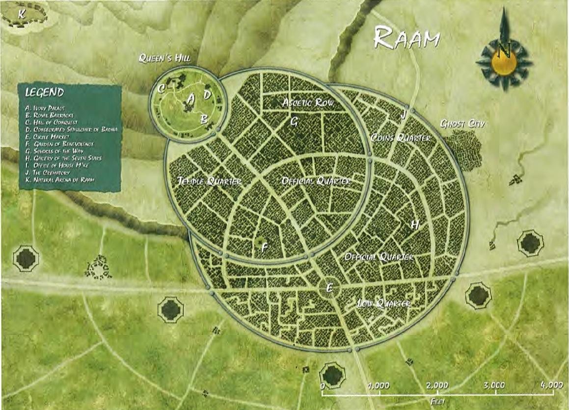Raam map