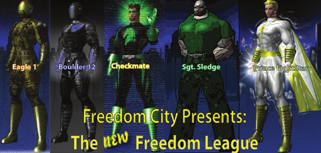 Freedom City Stories