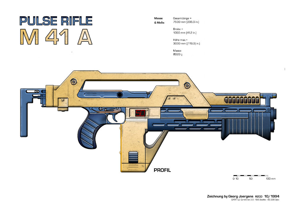 M41a pulse rifle by paul muad dib2