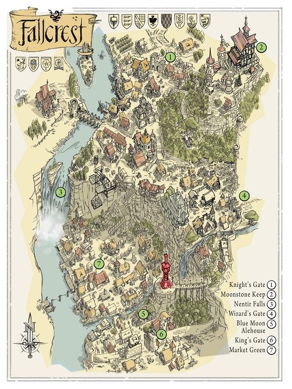 Fallcrest map small