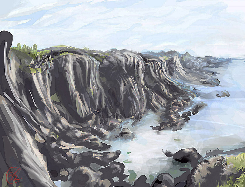 The Noble Coast off the Goldrook Peninsula