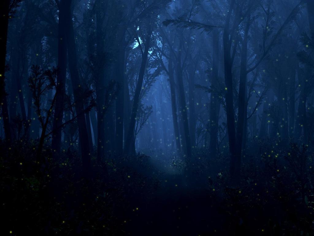 Darkening wood