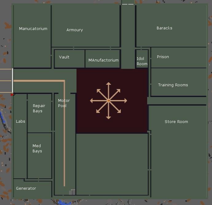 Ziggurat base