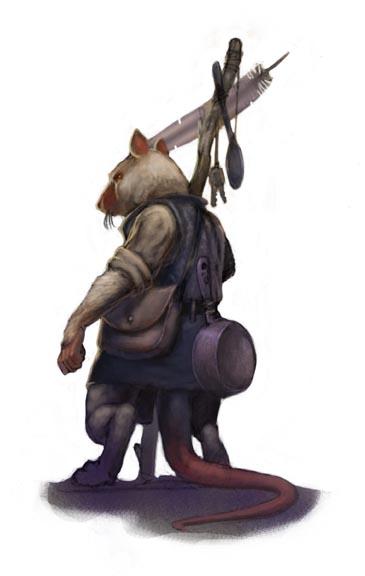 Ratfolk scavenger