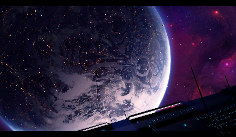 Bazaar viewed from orbit