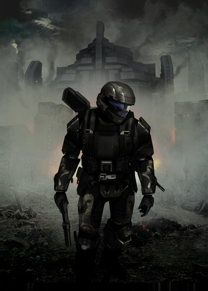 Odst dark painting