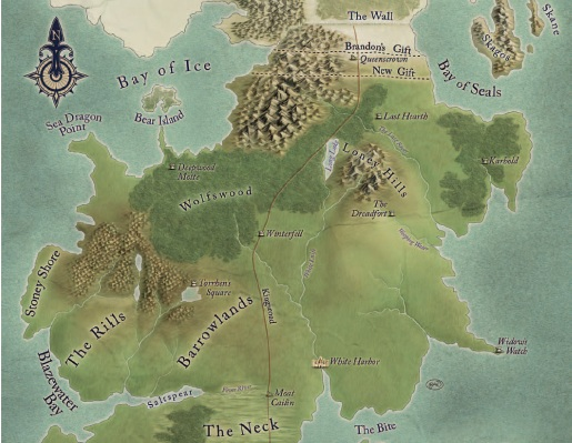 MAPS OF THE NORTH Game of Thrones RQ Obsidian Portal