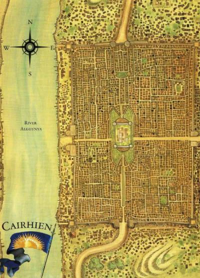 Map of city of cairhien