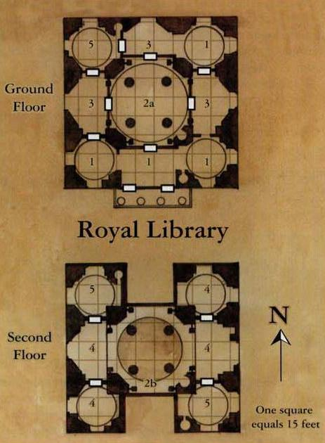 Map of royal library of cairhien