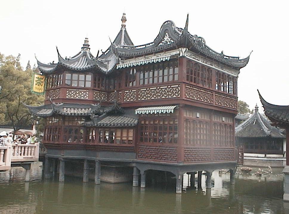 Tea house bg