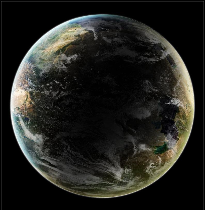 Canaan from orbit