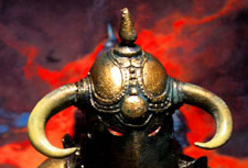 Horned Helm of the Beastlord