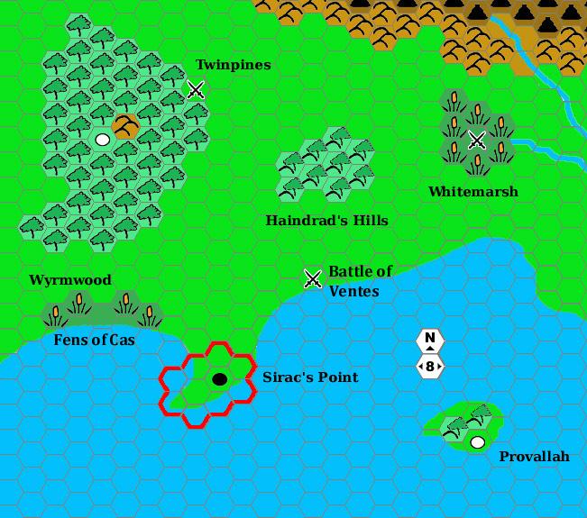 Siracs Point Region