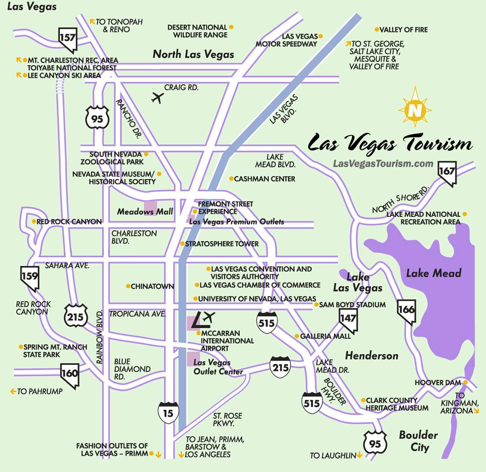 Fremont Street Map – Jerusalem House