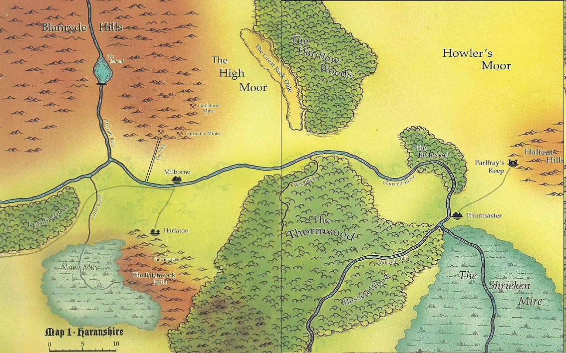 Map of Haranshire