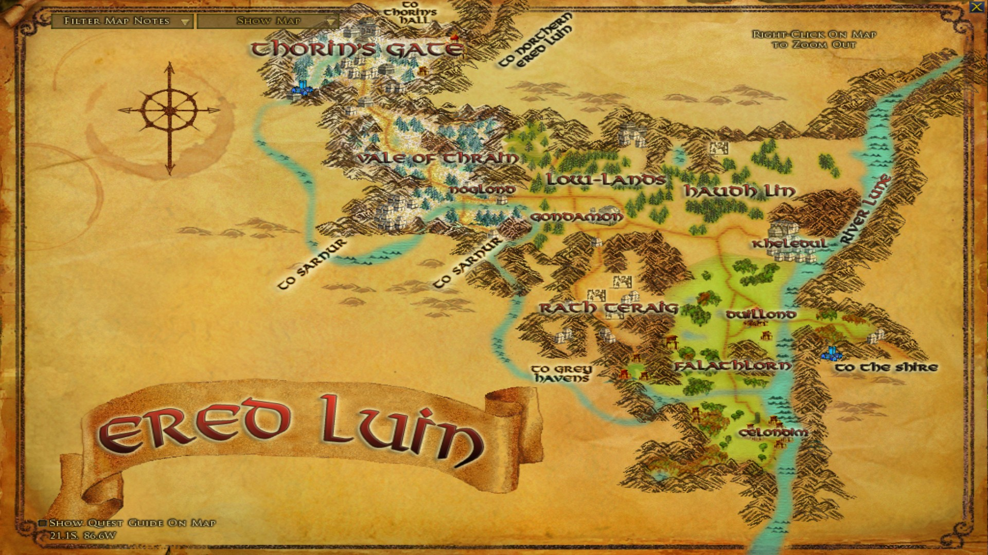 mountains were also never a part of arnor but they do hold the dwarven realms of belegost and thorins halls belegost has been reduced in size since