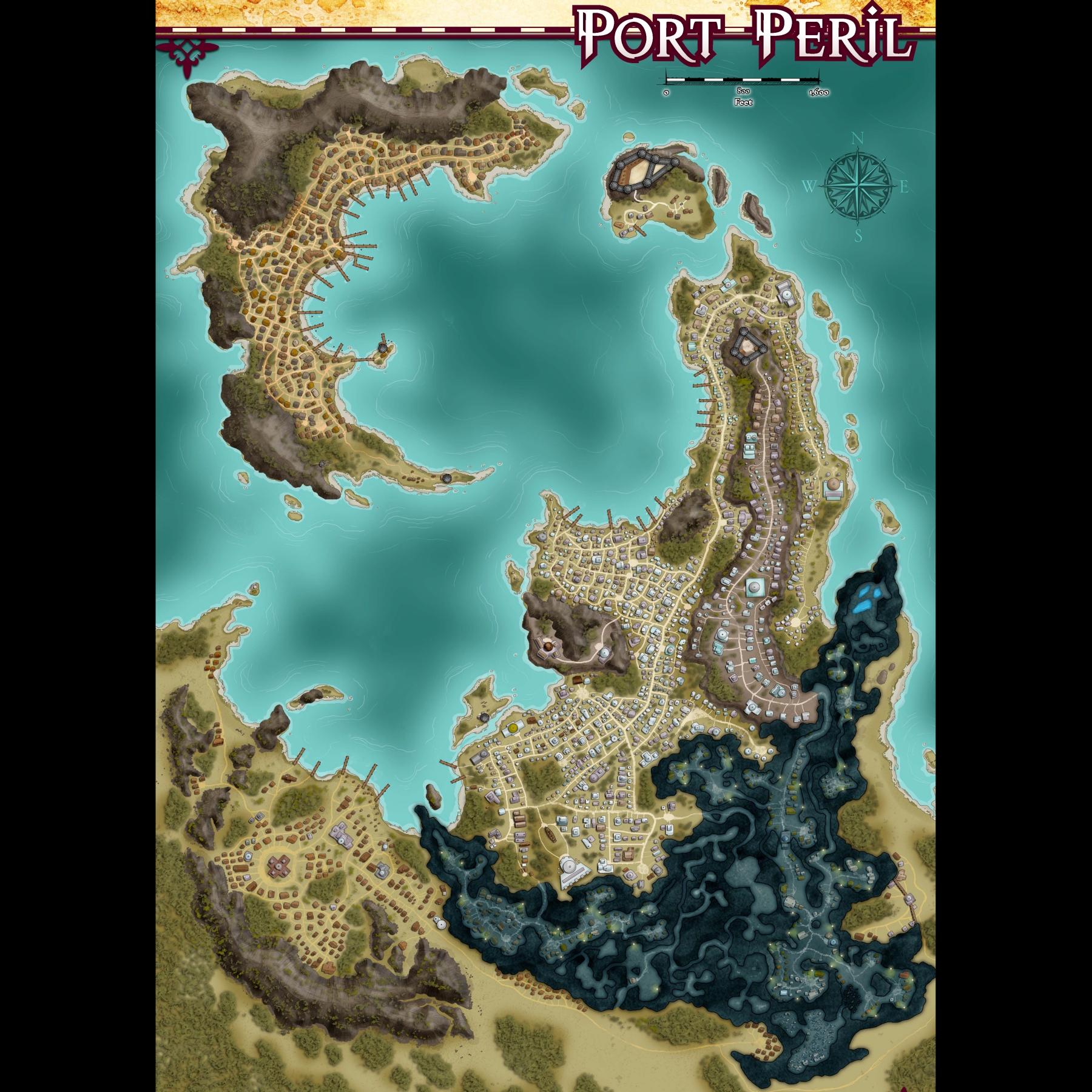 Port Peril Map